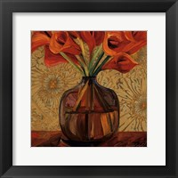 Framed Orange Lilies