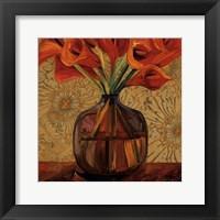 Framed Orange Lilies
