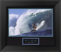 Framed Risk-Surfer