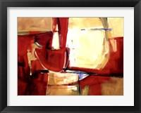 Framed Red Rock
