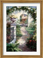 Framed Flowered Archway