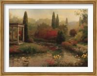 Framed Garden Pond