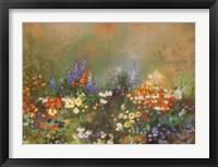 Framed Meadow Garden III