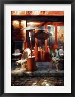 Framed Le Sabot Rouge