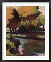 Framed Chickamauga Creek