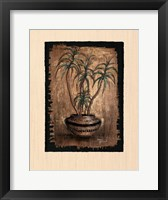 Framed Exotic Flora I