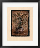 Framed Exotic Flora II