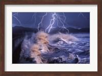 Framed Nature's Majesty-Waves
