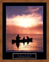 Framed Values-Fishing