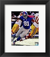 Framed Justin Tuck 2012 Action