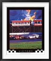 Framed Victory-Auto Racing