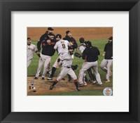 Framed San Francisco Giants Winning Game 4 of the 2012 World Series