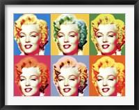 Framed Visions of Marilyn