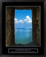 Framed Opportunity - Wall