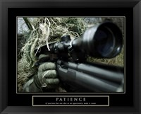 Framed Patience - Military Man