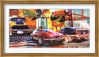 Framed Muscle Cars