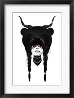 Framed Bear Warrior