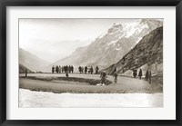 Framed Snow on the Galibier, 1924