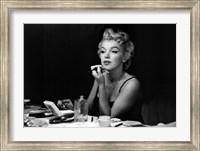 Framed Marilyn Monroe- Back Stage
