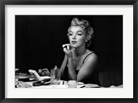 Framed Marilyn Monroe- Back Stage