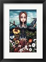 Framed Madame Nature