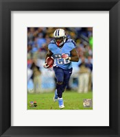Framed Chris Johnson 2012 Action