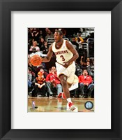 Framed Dion Waiters Dribbling The Basketball
