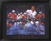Hockey - Goals Framed Print