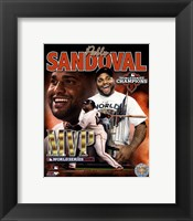 Framed Pablo Sandoval 2012 World Series MVP Portrait Plus