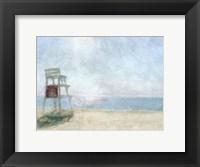 Framed Beach Lookout I