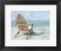 Framed Beach Lookout II