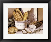 Framed Bread Study