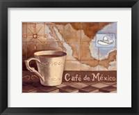 Framed Cafe de Mexico