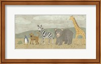 Framed Animals All in a Row II