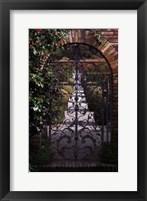 Framed Garden Gate - Filoli, CA