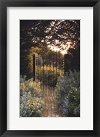Framed Secret Garden - Old Barkfold, Sussex