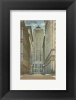 Framed Chicago- La Salle Street