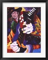 Blues Jam Framed Print