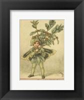 Framed Box Tree Fairy