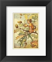 Framed Acorn Fairy