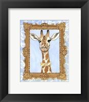 Framed Teacher's Pet - Giraffe