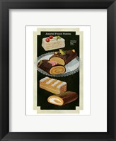 Framed French Pastries I
