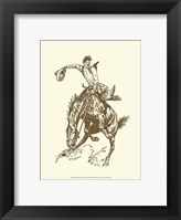 Framed Small Cowboy