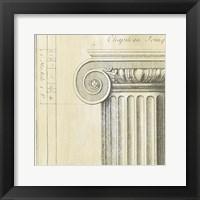 Framed Decorative Elegance II