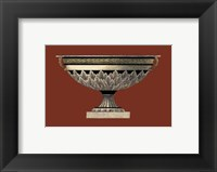Framed Small Antique Vase III