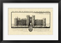 Framed Vintage Wingfield Castle