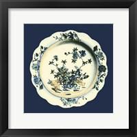 Framed Porcelain Plate I