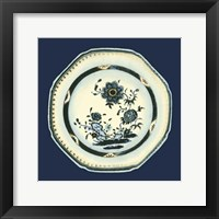 Framed Porcelain Plate II