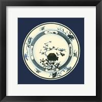 Framed Porcelain Plate III