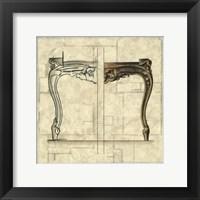 Framed Furniture Sketch I